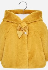 Mayoral Faux Fur Baby Coat