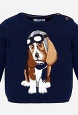 Mayoral Aviator Sweater Hound Dog