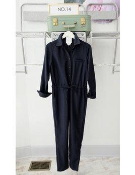 Navy Boiler Jumpsuit