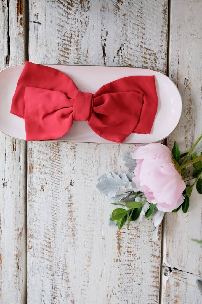Silk Oversized Bow