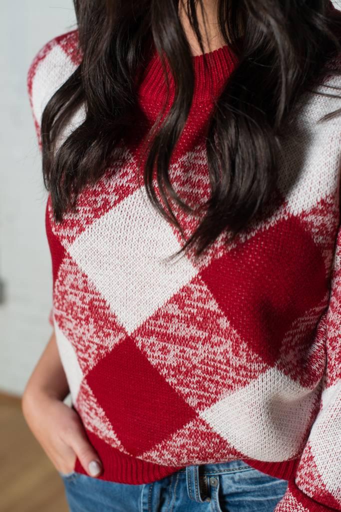 Plaid Sweater