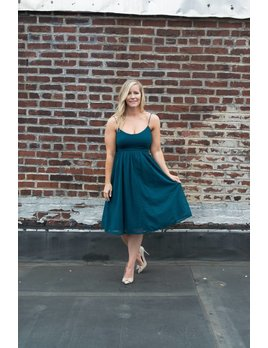 Evergreen Midi Dress