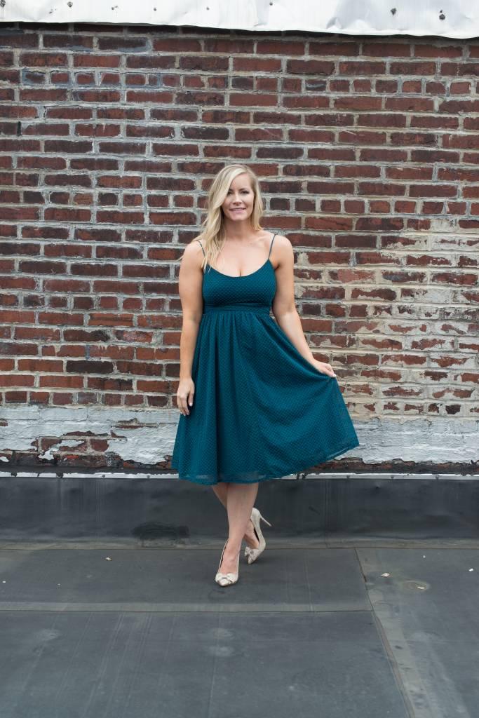 Evergreen Midi Dress