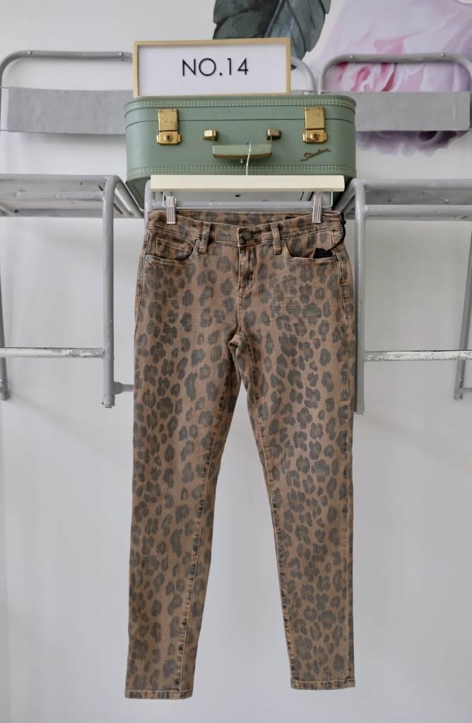 Leopard Skinny Jeans