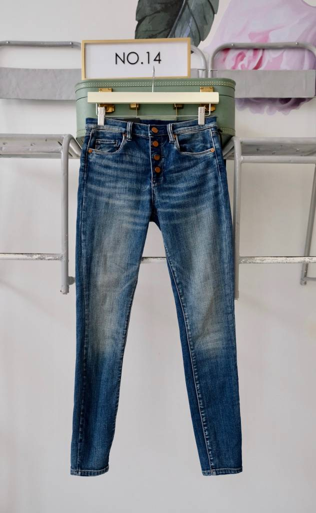 Button Fly Skinnies