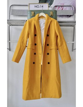 Double Breast Long Coat
