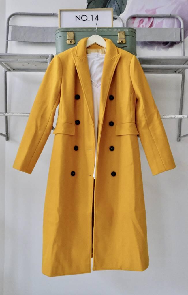 Double Breast Long Coat