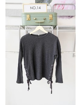 Side Lace Up Thermal