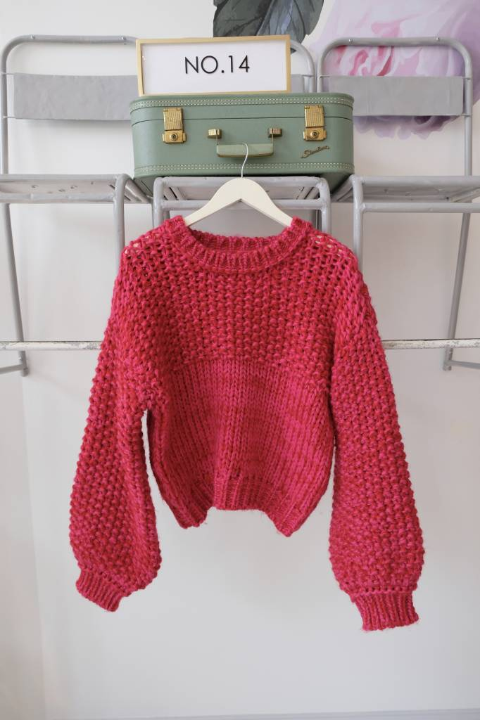 Swirl Marled Sweater
