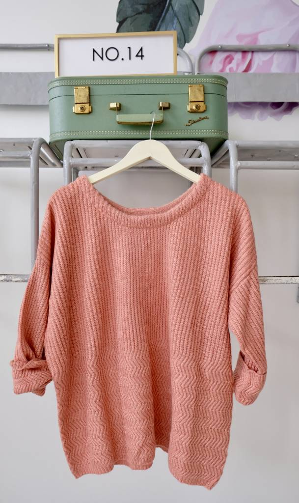 Scoopneck Lurex Sweater