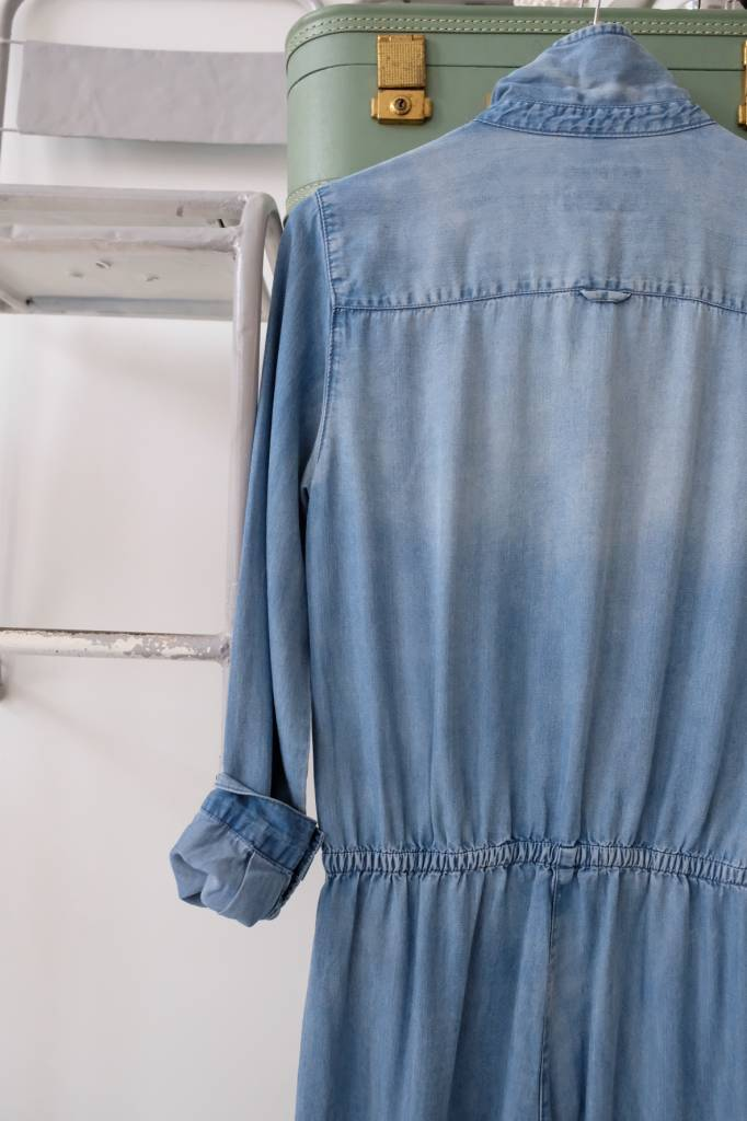 Chambray Boiler Jumpsuit