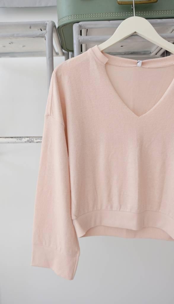 V Neck Soft Sweater