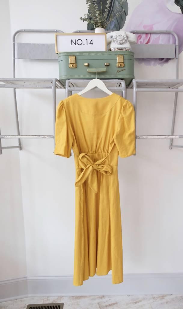 Citrine Midi Dress