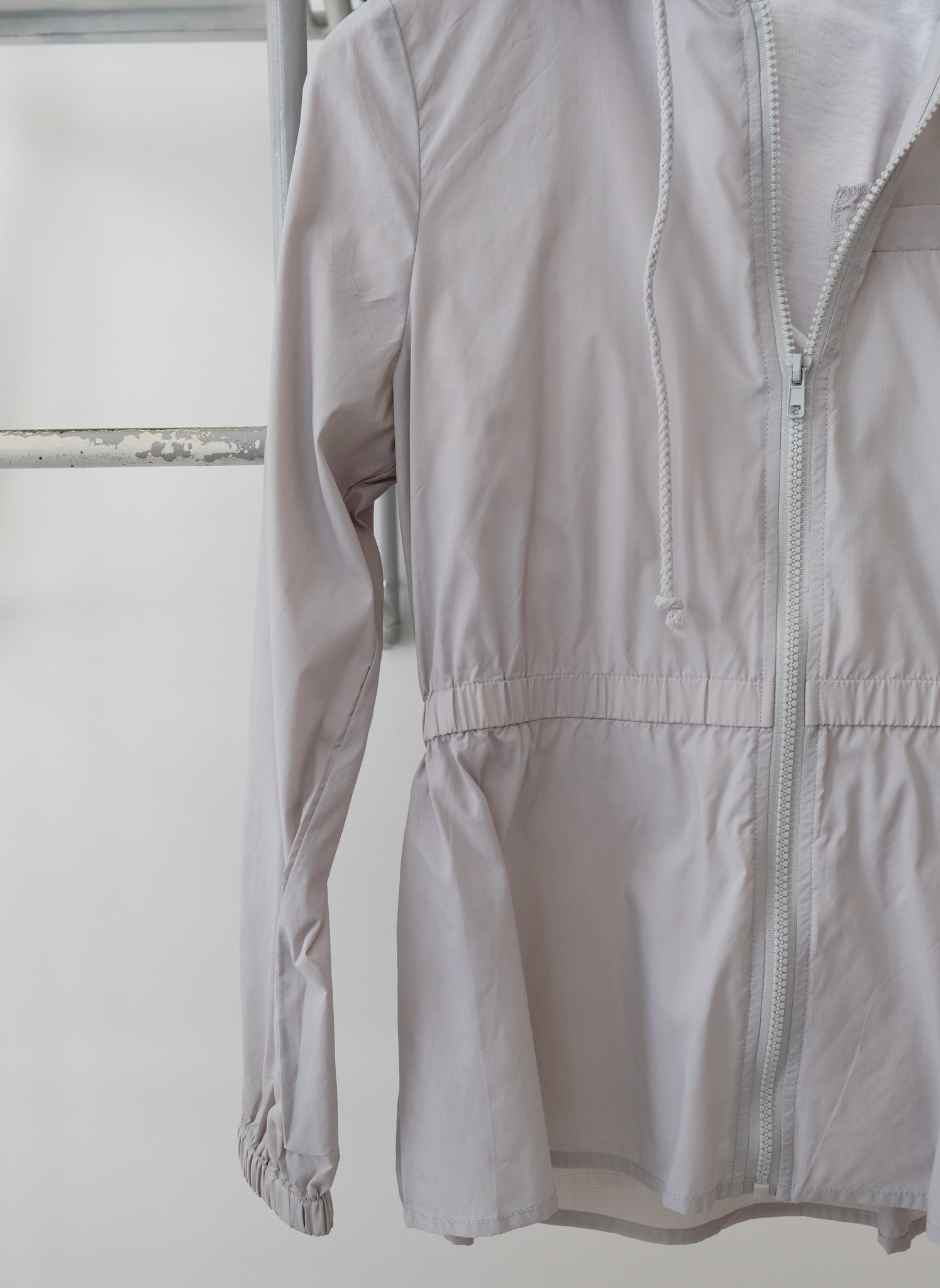 Grey Lightweight Raincoat