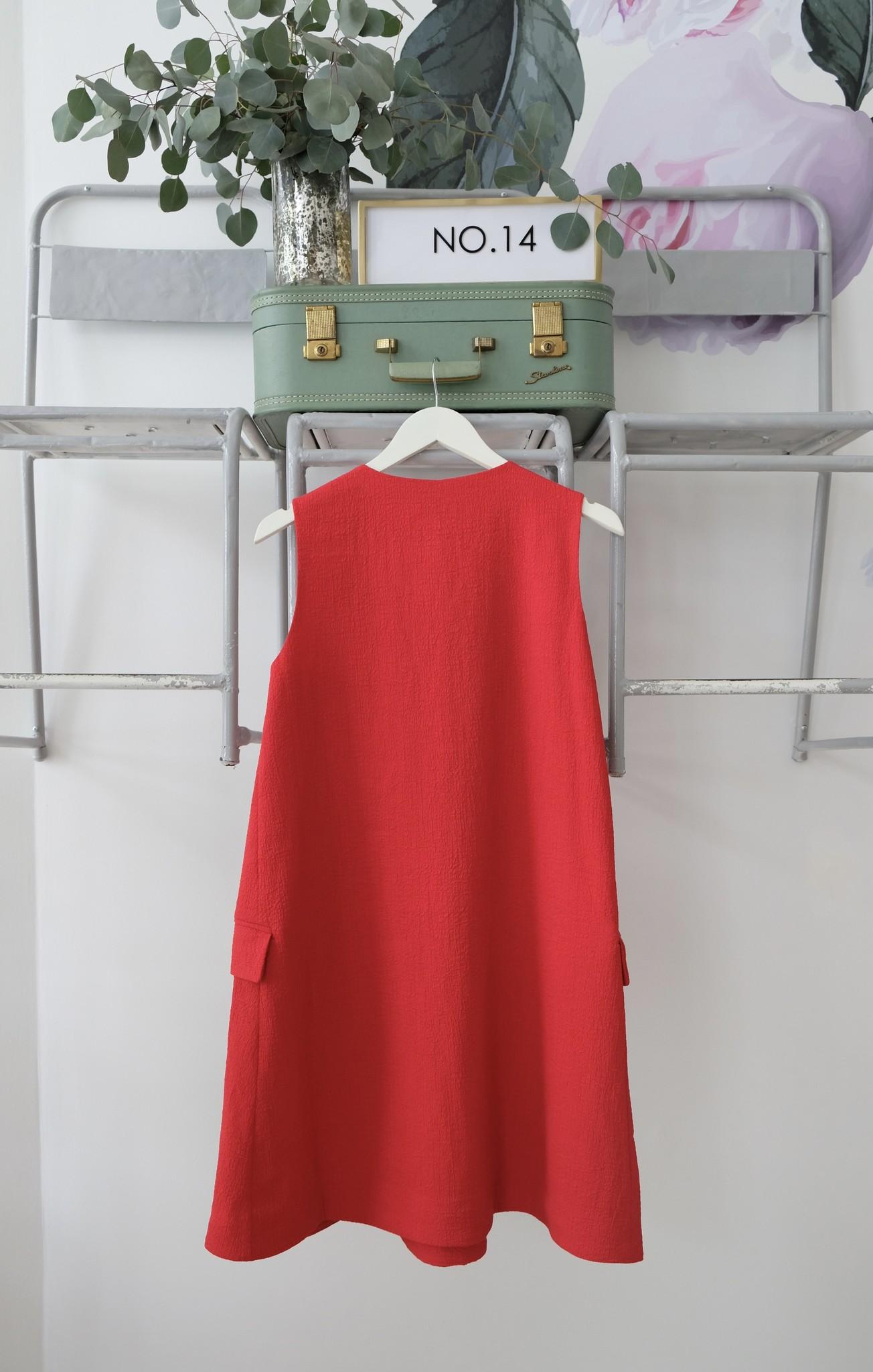 V Neck A Line Dress