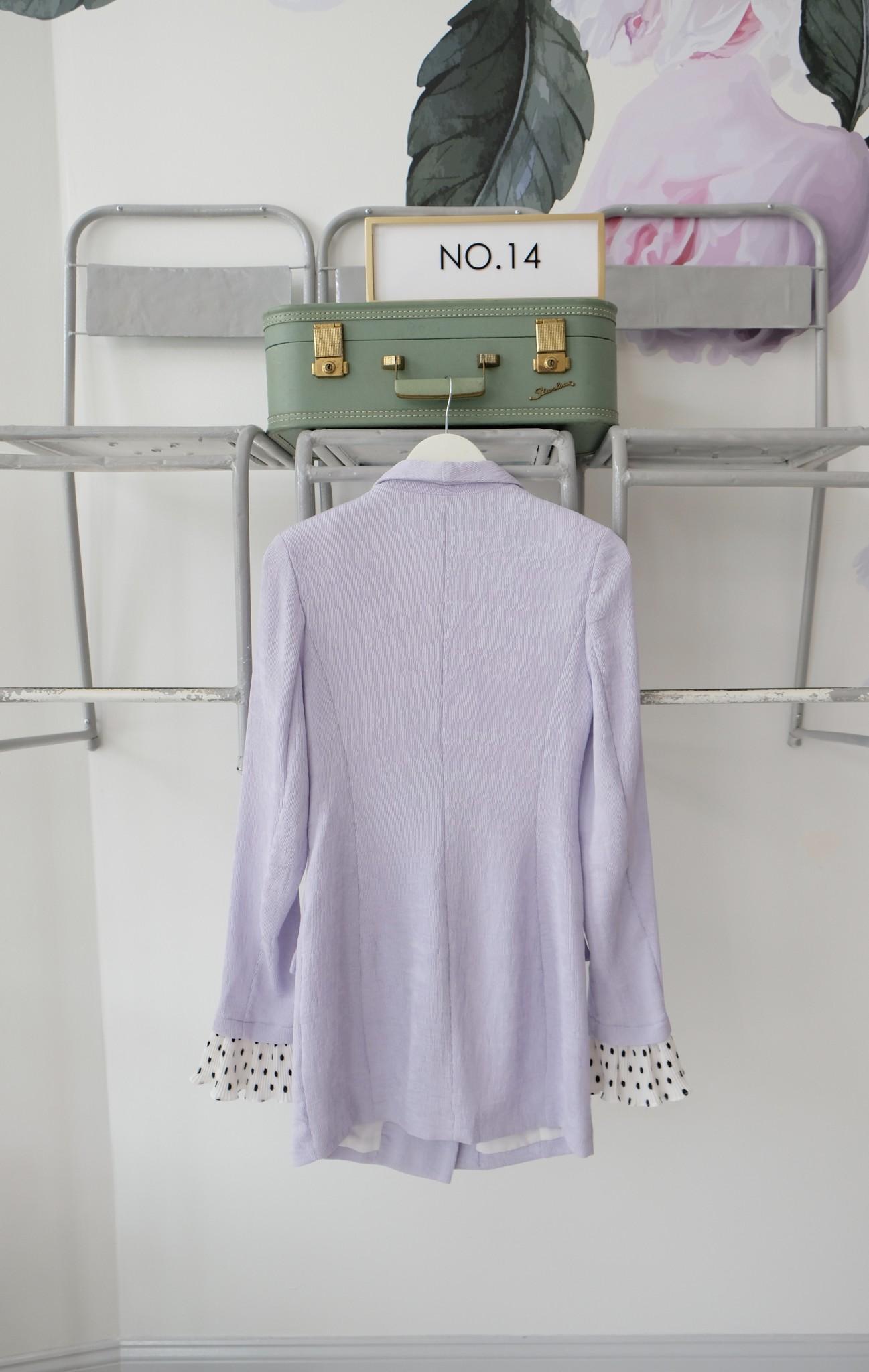 Lilac Blazer Dress