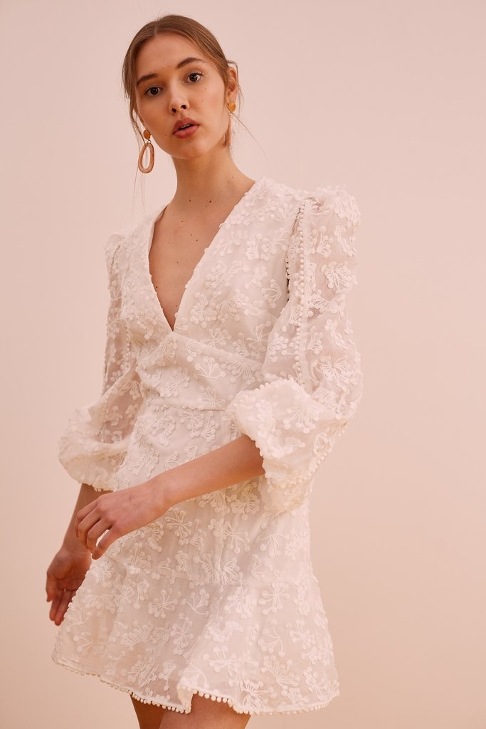 KEEPSAKE Long Sleeve Ditsy Floral Dress
