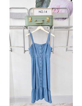 Chambray Midi Dress