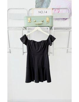 Ponte Fit & Flare Dress