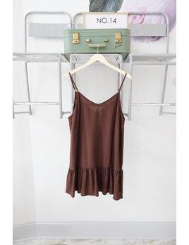 CHARLIE HOLIDAY Drop Waist Tank Dress