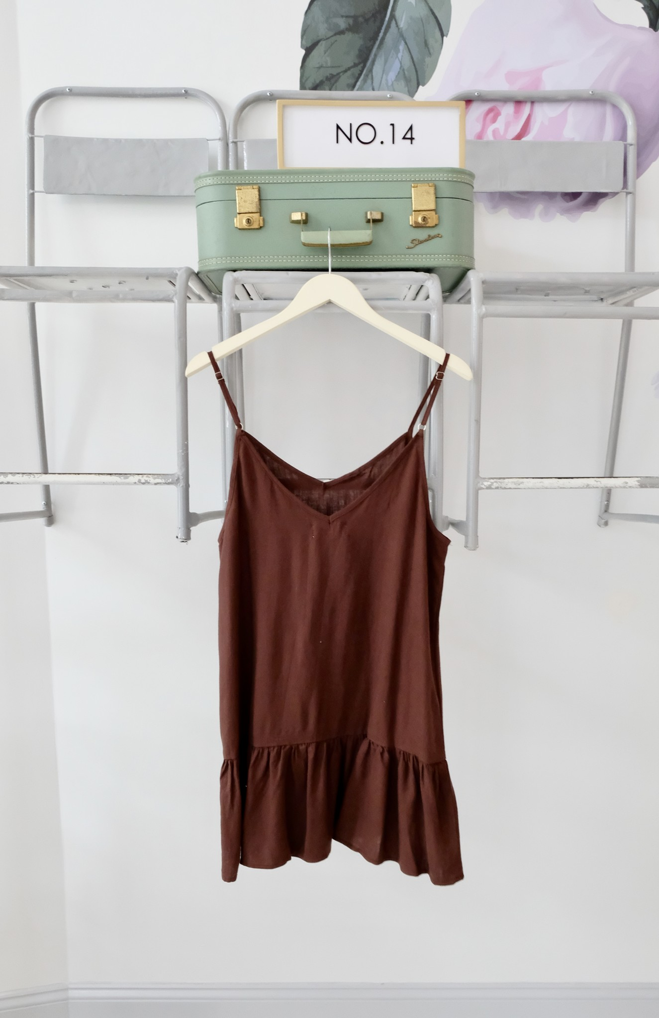 CHARLIE HOLIDAY Drop Waist Tank Dress