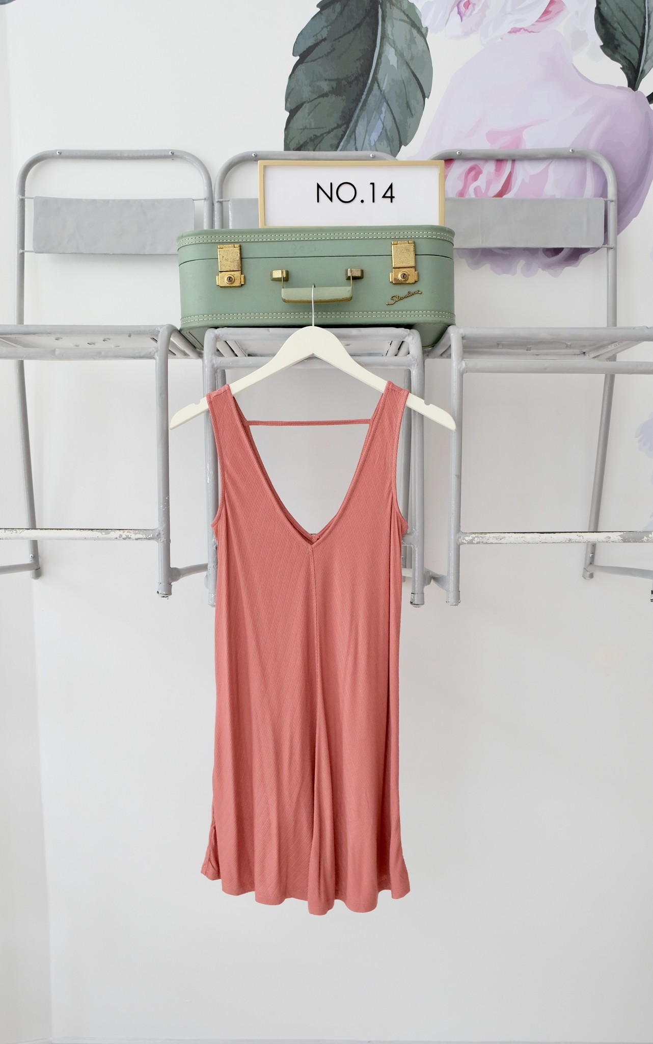 Ribbed Swing Dress