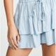Layered Ruffle Short