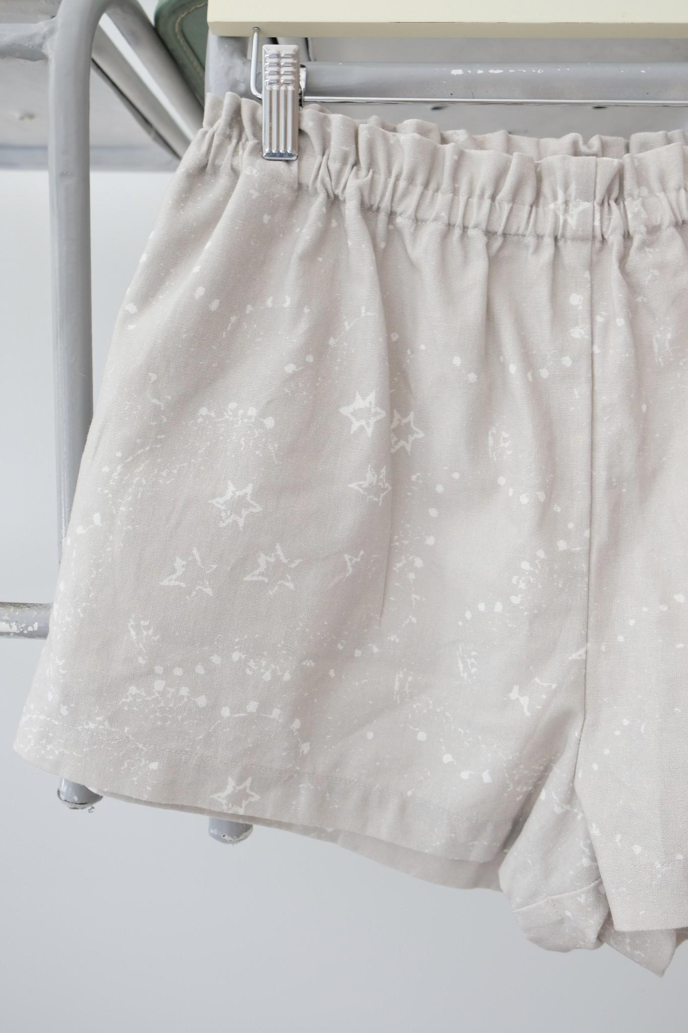 Star Print Shorts