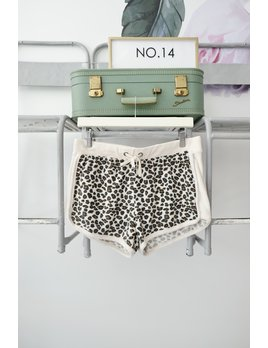 Leopard Soft Knit Short