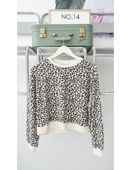Leopard Soft Knit Pullover