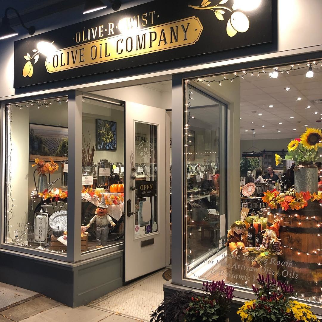 Olive R Twist Olive Oil Store Front