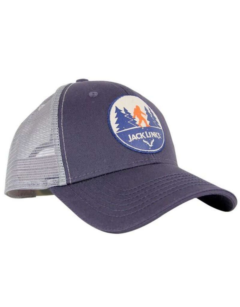 Sasquatch Lifestyle Patch Hat - Blue