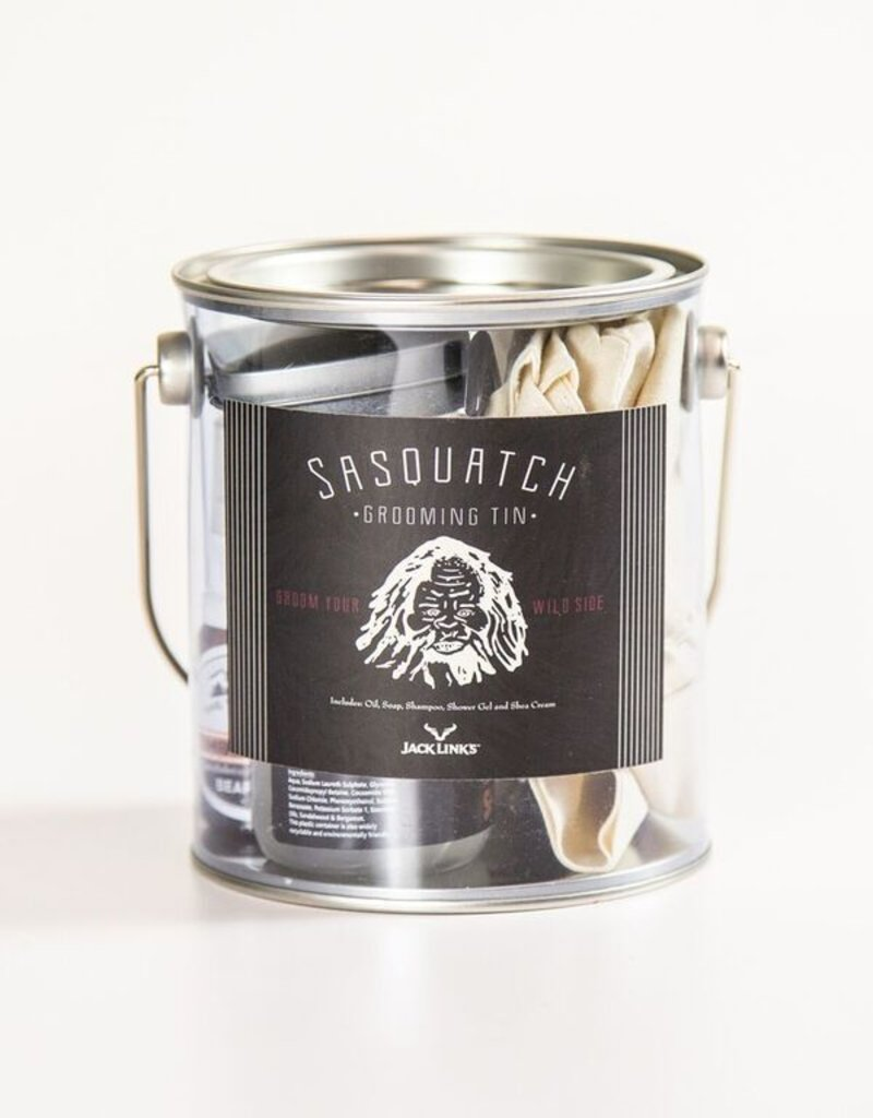 Sasquatch Grooming Can