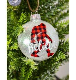 I Believe Custom Ornament