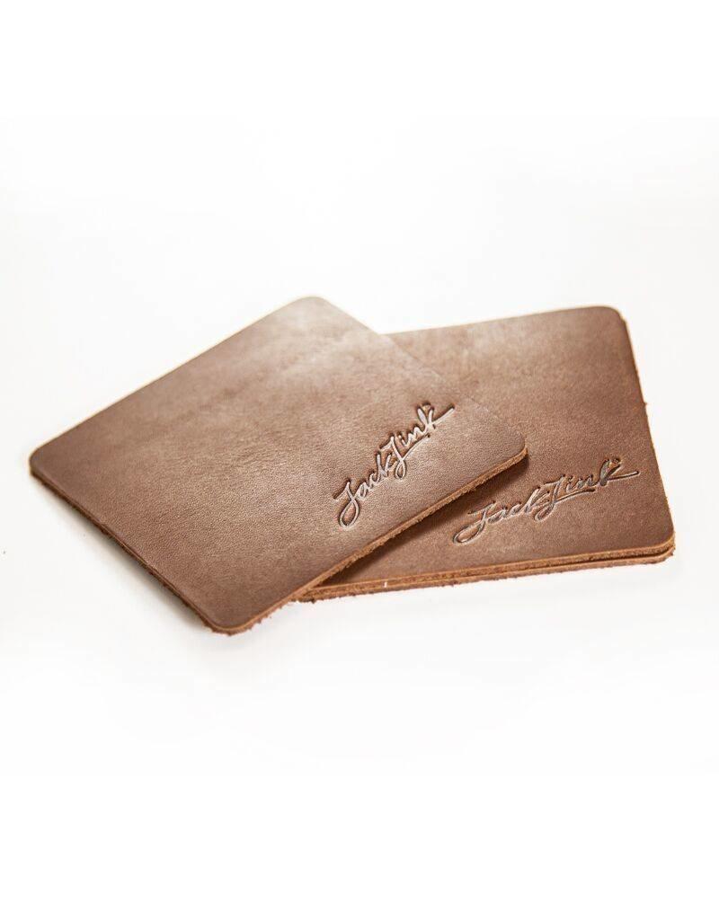 Leather Jack Link's™ Signature Coaster