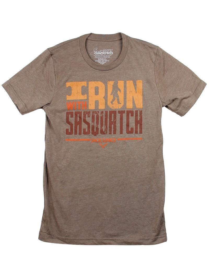 I Run With Sasquatch T-Shirt