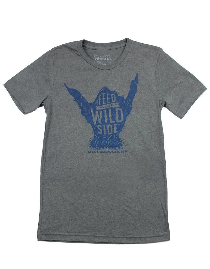 Wild Sasquatch Hand T-Shirt