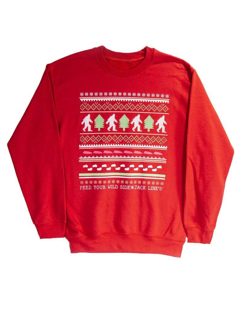 Sasquatch Holiday Crew Neck Sweatshirt
