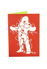 Holiday Card Sasquatch Light Tangle
