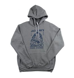 Team Sasquatches Hooded Sweatshirt Grey