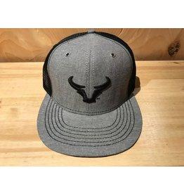 Steer Horns Flat Bill Hat