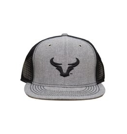 Steer Horn Flat Bill Hat