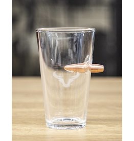 Steer Horn Bullet Pint Glass
