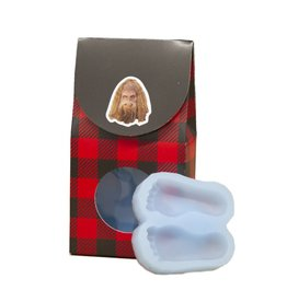 Sasquatch Big Feet Ice Cube Mold