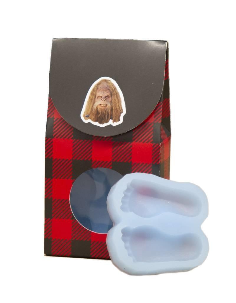 Sasquatch Big Feet Ice Cube Mold