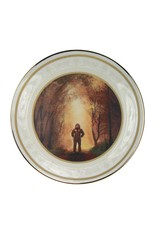 Sasquatch In the Autumn Collector Plate