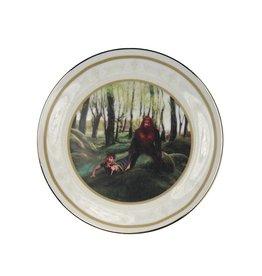 Sasquatch Makes a Friend Collector Plate