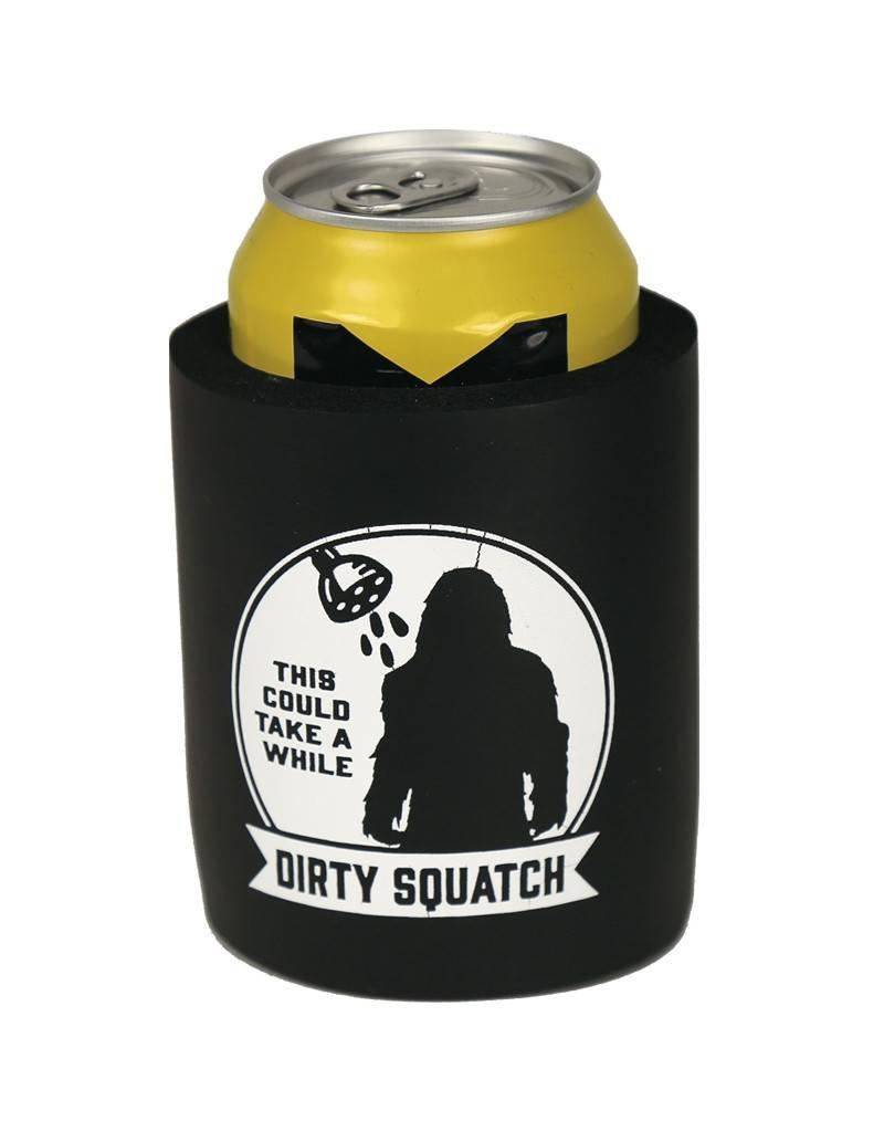 Dirty Squatch - Shower Koozie
