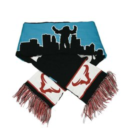 Knit Sasquatch Takes Minneapolis Scarf