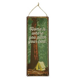 Vintage Sign: Pitch Your Tent